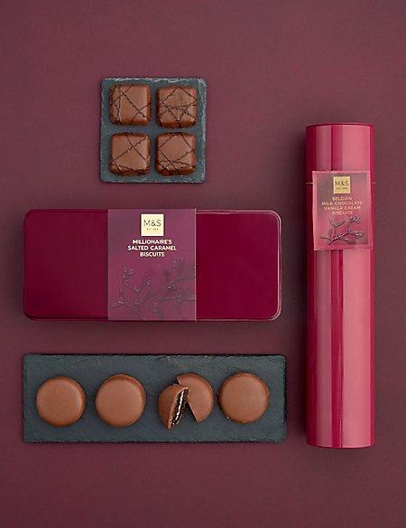Millionaire's Festive Biscuit Favourites
