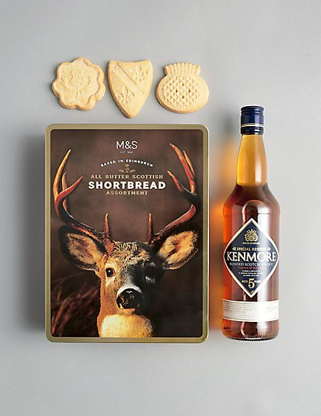 The Connoisseur's Choice Whisky and Shortbread Gift Selection