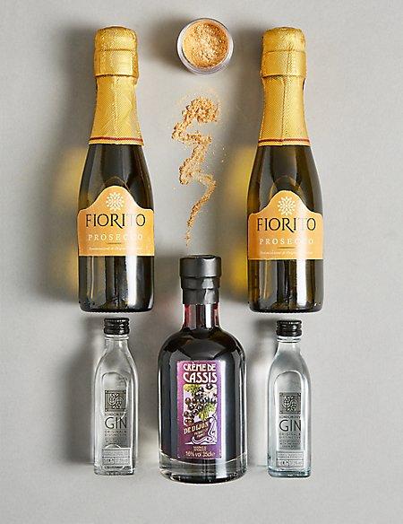 Gin Royale Sparkling Cocktail Gift Set