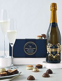 Prosecco and Toffee Shortbread Tin