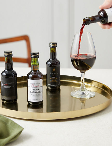 The Connoisseur Port Tasting Experience Gift