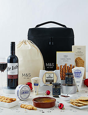 Continental Cheese Chilled Hamper (Available for delivery from 18th Dec 2018)