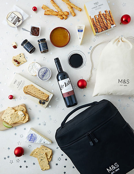 Continental Cheese Chilled Hamper (Available for delivery from 18th December 2019)