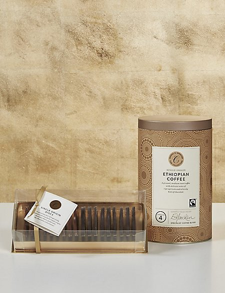 The Collections Single Origin Chocolate & Coffee Gift