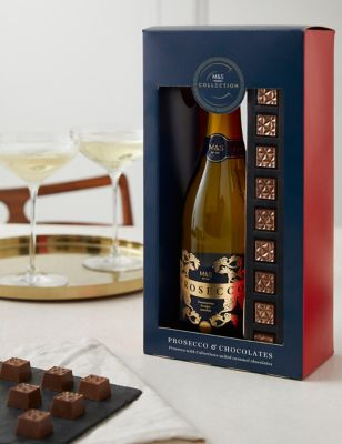The Collection Prosecco u0026 Chocolates Gift Set & Luxury Hampers u0026 Gifts | For Him u0026 Her | Mu0026S