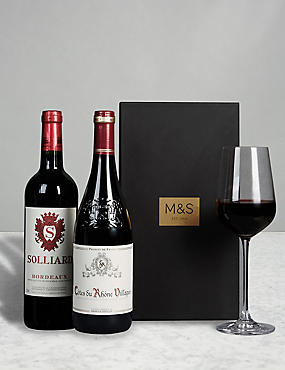 The Connoisseur Red Wine Gift Selection