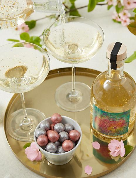Gin Liqueur Glitter Globe & Summer Prosecco Gift