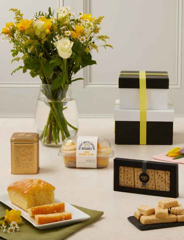 Mothers Day Afternoon Tea With Flowers Gift Selection Free Delivery