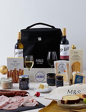 Continental Indulgent Chilled Hamper (Available for delivery from 16th Dec 2018)