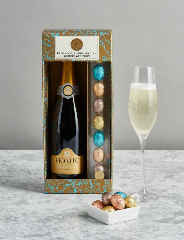 bd55ef692ddb The Collection Prosecco and Mini Belgian Chocolate Eggs