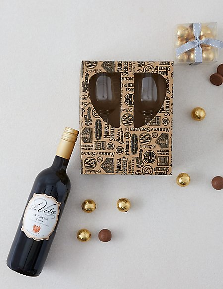 Red Wine and Chocolate Pairing Gift Set (Available for delivery from 1st March 2018)