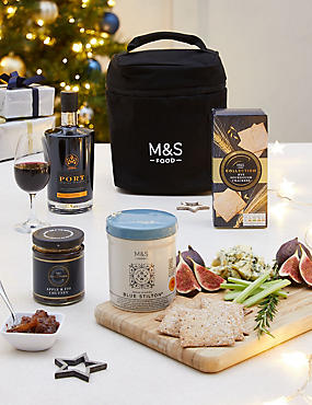 Port and Stilton® Christmas Gift Selection (Available for delivery from 18th Dec 2018)