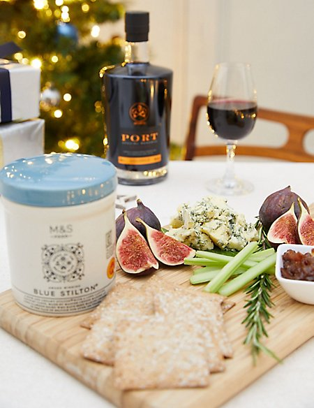 Port and Stilton® Christmas Gift Selection (Available for delivery from 1st Nov 2018)
