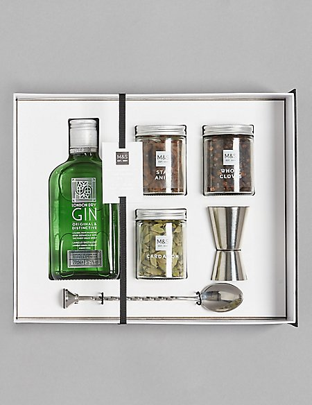 The Connoisseur Gin Mixing Gift Set