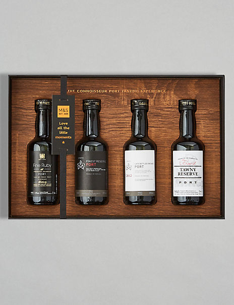Connoisseur Port Tasting Gift Set