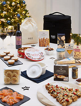 Hamilton Classic Indulgent Chilled Hamper (Available for delivery from 18th Dec 2018)