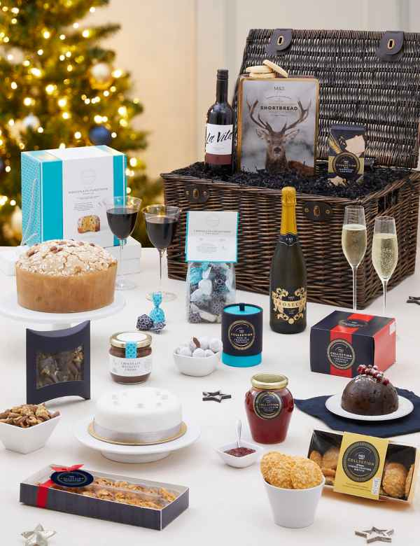 Christmas Hampers 2019.Christmas Hampers Luxury Xmas Food Gift Baskets M S