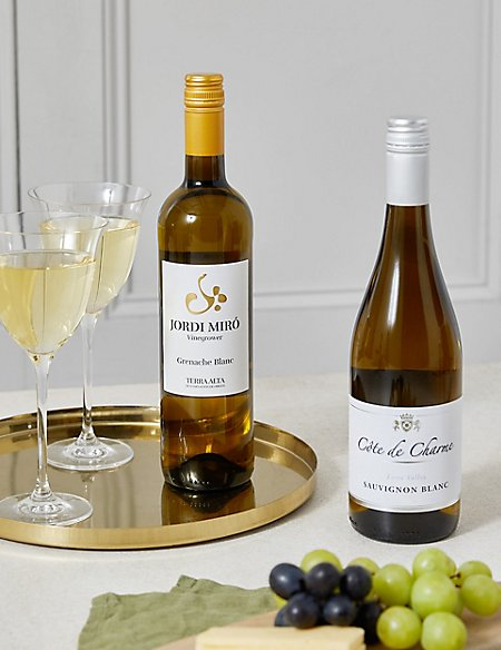 The Connoisseur's Choice White Wine Gift Selection