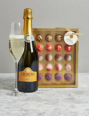 Christmas hampers luxury xmas food gift baskets ms the collection prosecco chocolates gift bag negle Gallery