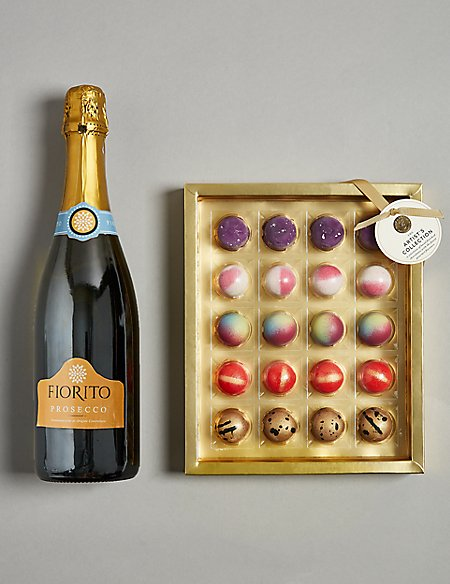 The Collection Prosecco and Chocolates Gift Selection