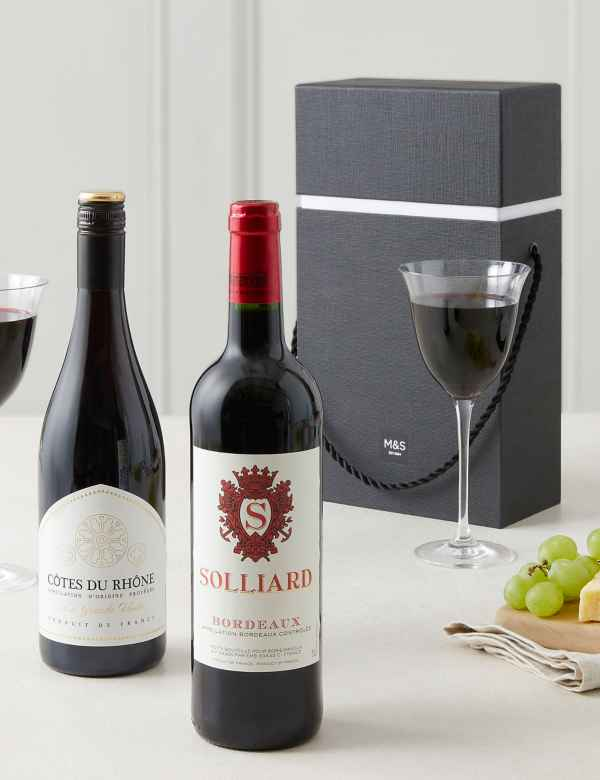 The Connoisseurs Choice Red Wine Gift Selection