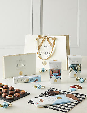 Swiss Chocolate Gift Bag