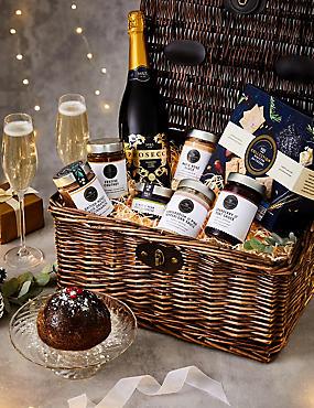 christmas hampers luxury xmas food gift baskets m s. Black Bedroom Furniture Sets. Home Design Ideas