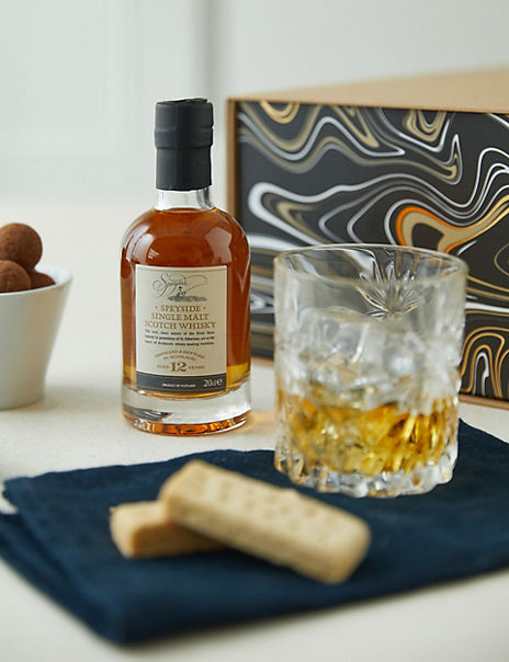Whisky Warmer Gift Set