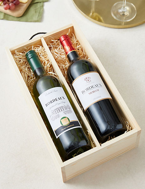 Bordeaux Wine Duo