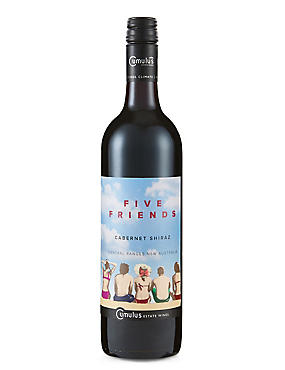 Five Friends Cabernet Shiraz - Case of 6