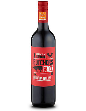Fair for Life Butchers Block Bonarda- Malbec - Case of 6