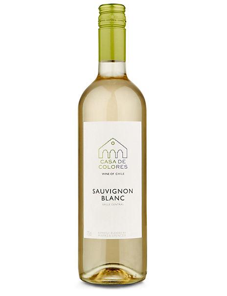 Casa Del Colores Chilean Sauvignon Blanc - Case of 6