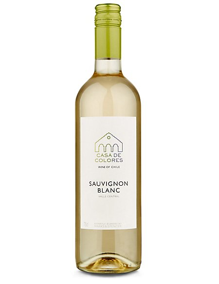 Casa del Colores Chilean Sauvignon Blanc - Case of 6