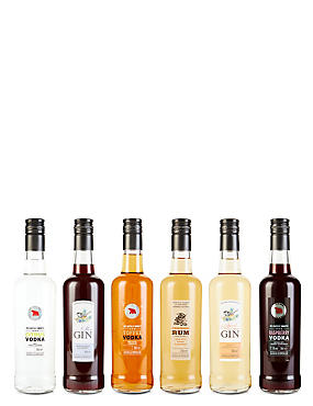 Flavoured Spirits Selection - Case of 6