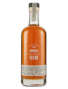 Guyana 10 year old Rum 70cl - Single Bottle