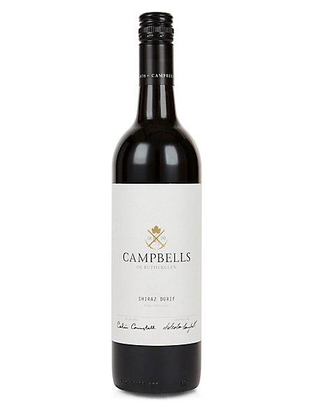 Campbells Shiraz Durif - Case of 6