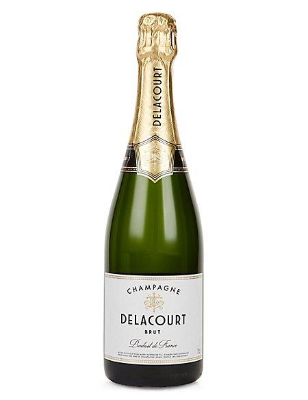 Delacourt Brut Champagne - Case of 6