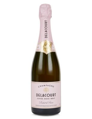 Champagne Delacourt Rosé NV, France