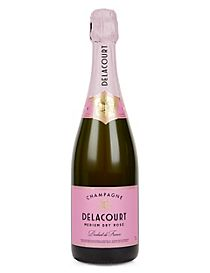 Champagne Delacourt Medium Dry Rose - Case of 6