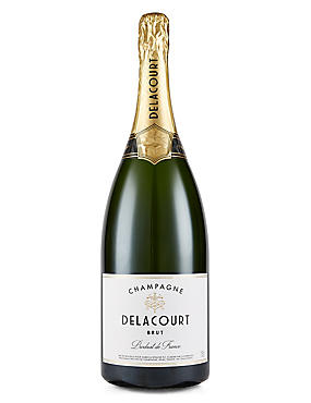 Delacourt Brut Magnum Champagne - Single Bottle