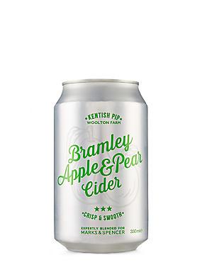 Kentish Pip Bramley Apple & Pear Cider - Case of 12