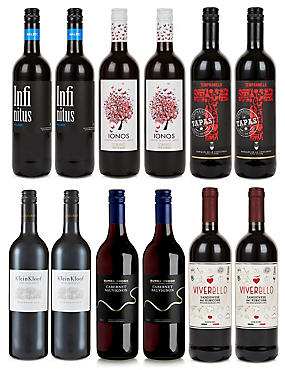 Explorer Mixed Reds - Case of 12