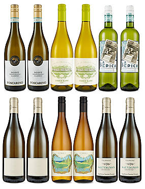 M&S Seasonal Whites - Case of 12