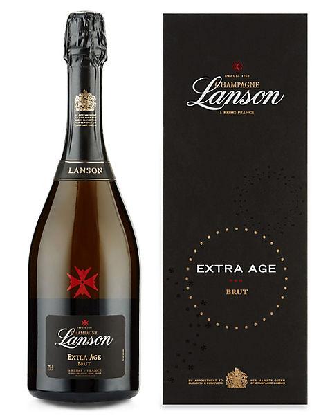 Lanson Extra Age Brut Champagne - Single Bottle