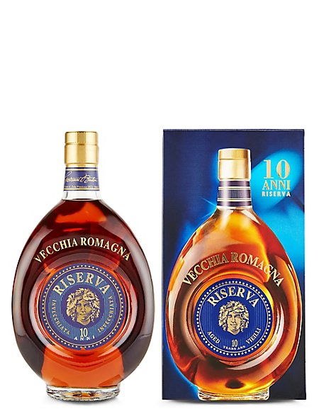 Vecchia Romagna Italian Brandy 10 Year Old - Single Bottle