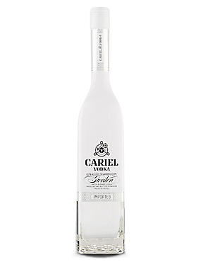 Cariel Swedish Vodka - Single Bottle