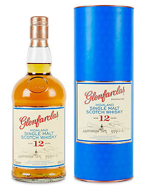 Glenfarclas 12 Year Old Single Malt Scotch Whisky - Single Bottle