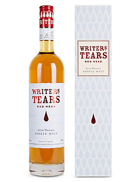 Writers Tears Red Head Single Malt Irish Whiskey - Single Bottle