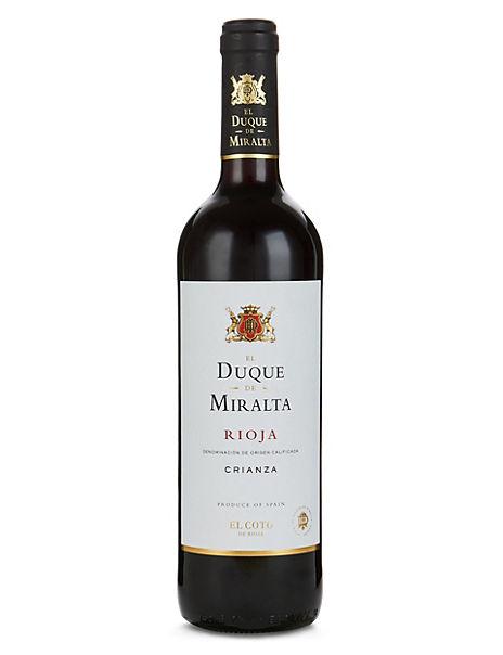 El Duque de Miralta Rioja Crianza - Case of 6