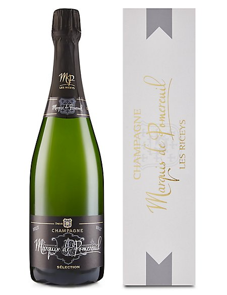 Marquis de Pomereuil Champagne Gift - Single Bottle
